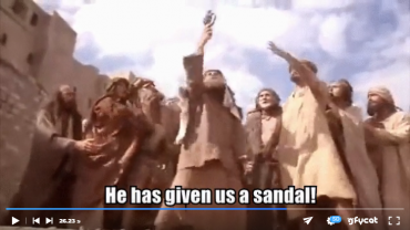 How Steven Lost a Sandal