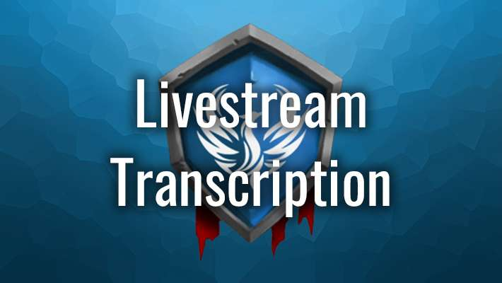 Livestream Transcription